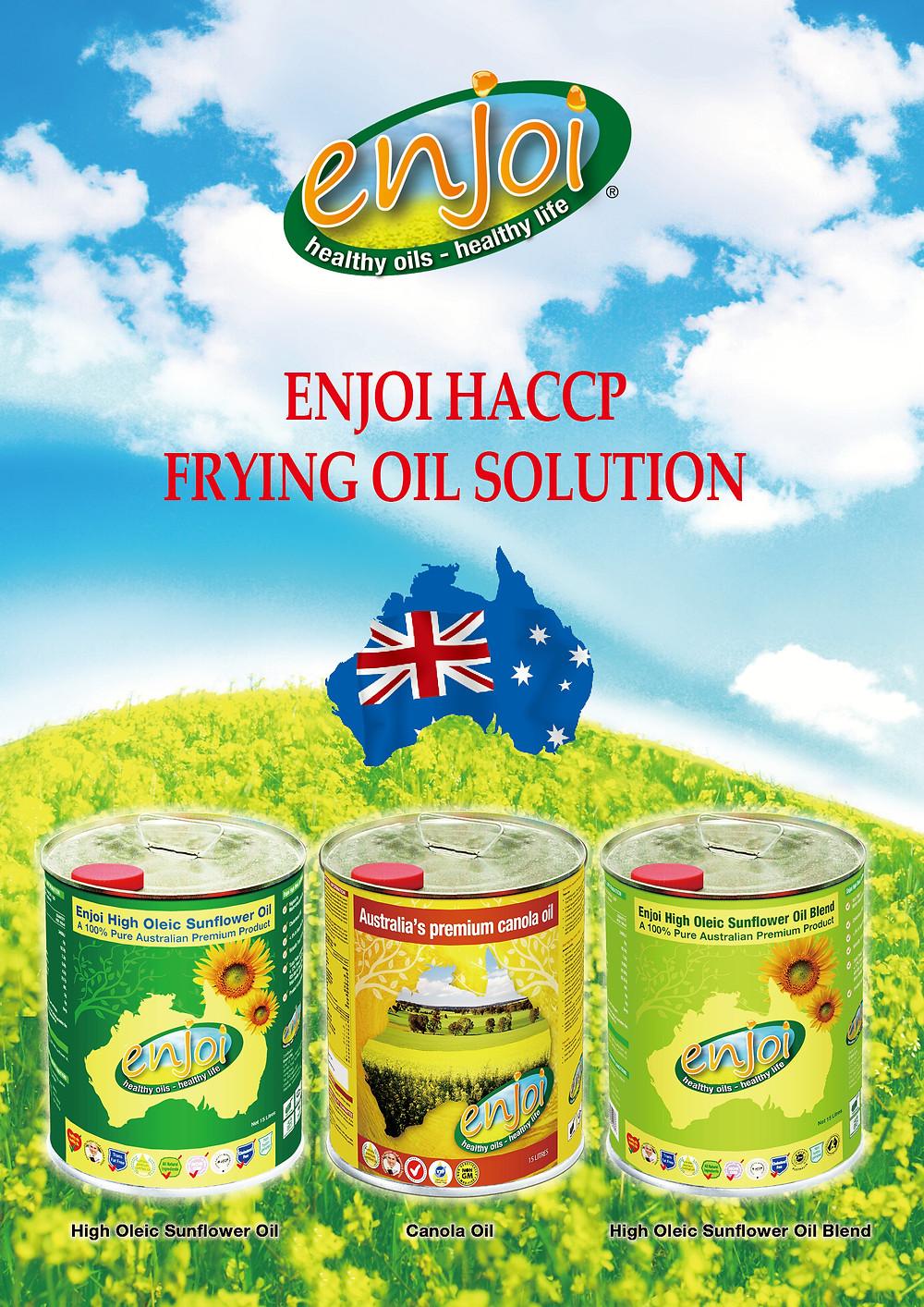 Enjoi HACCP Frying Oil Solution