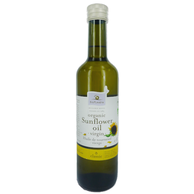Bio Planete organic Sunflower Oil virgin