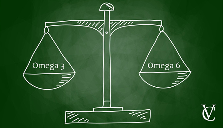 Balance of omega-3 and omega-6 is crucial