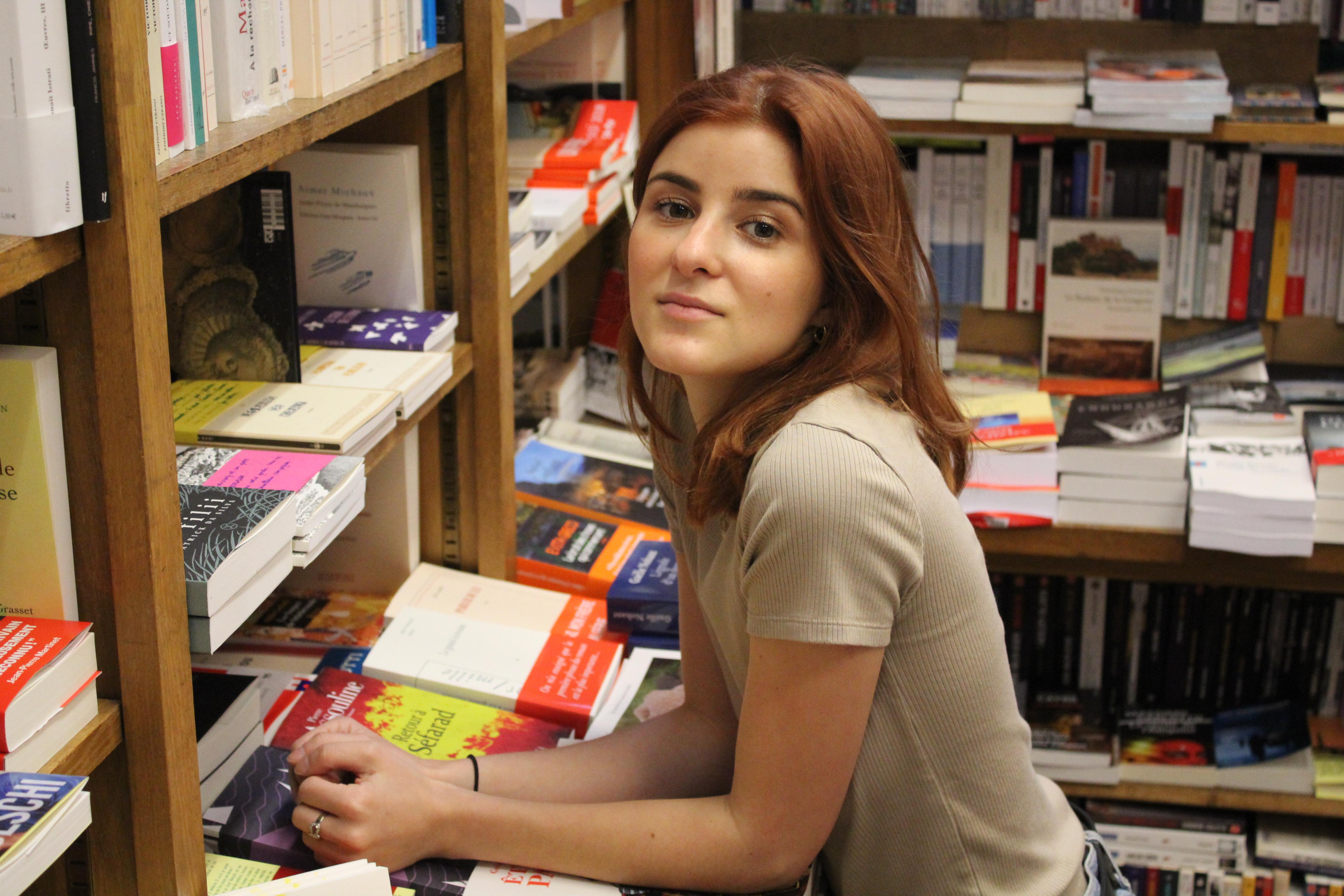 Laura D., Librairie Fontaine Kléber