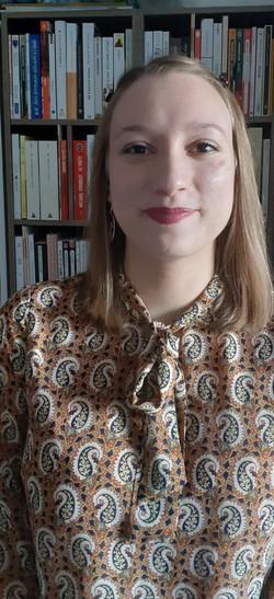 Amandine, Libraire Kube