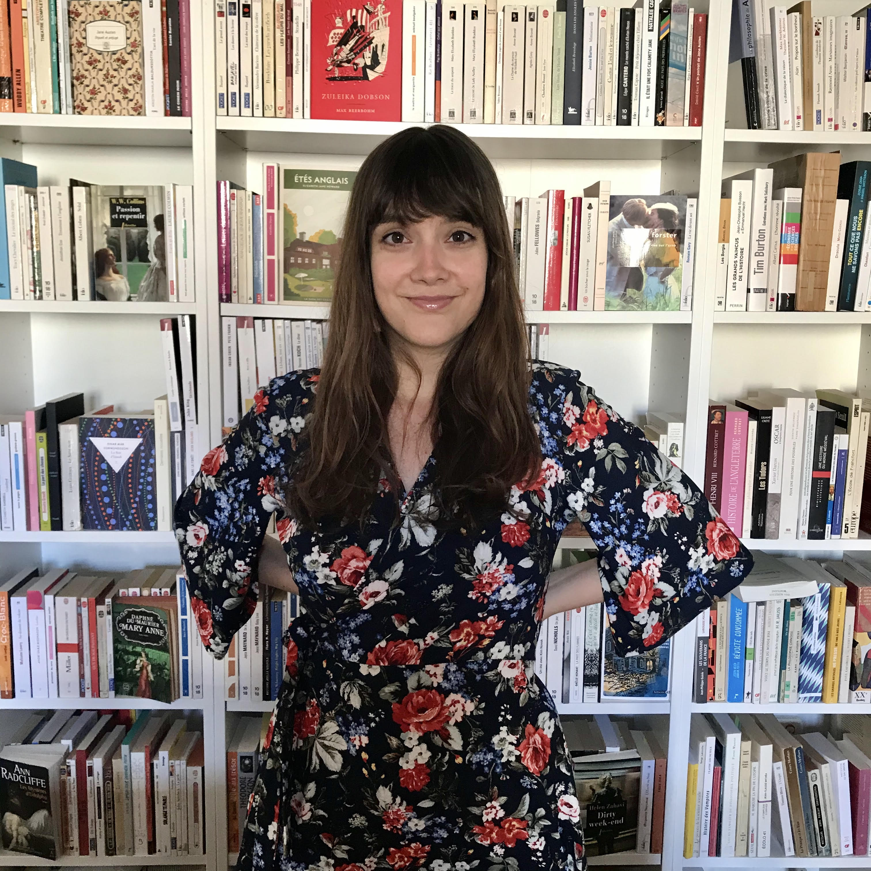 Camille K., Libraire Kube