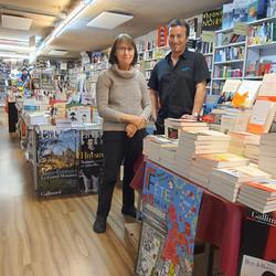 Annie et Thomas, librairie Bruneteaux