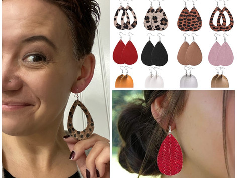 I like big earrings and I can not lie!