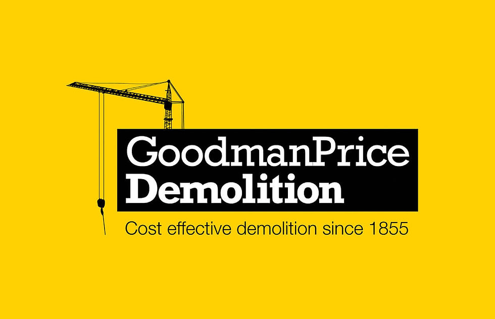 Logo for a demolition company