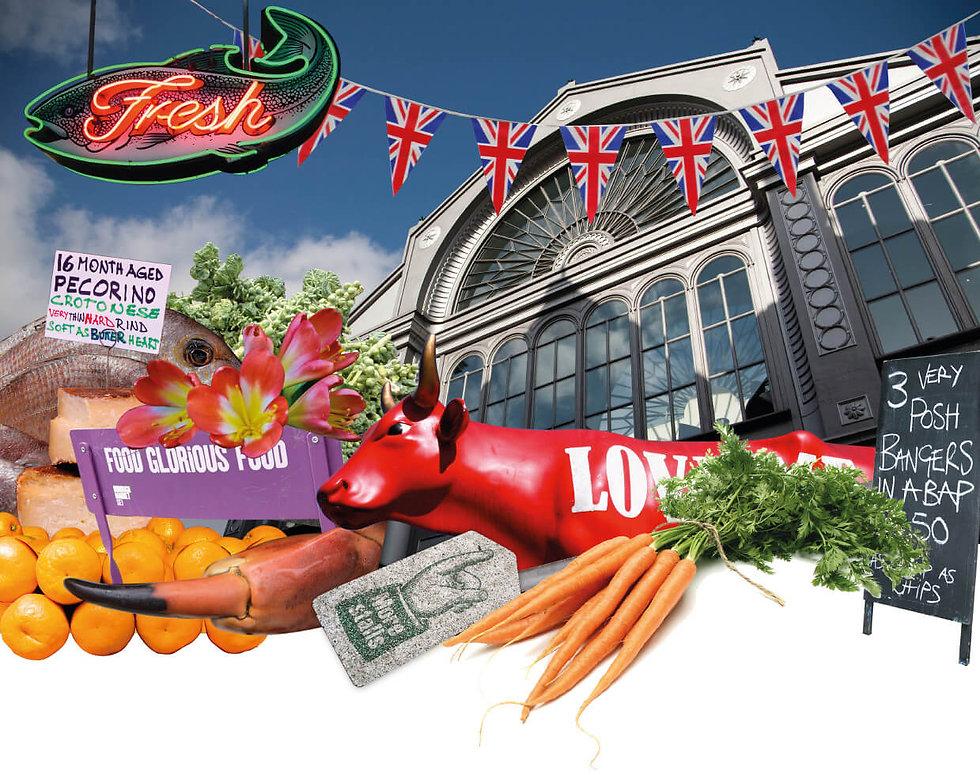 Illustration of Borough Market