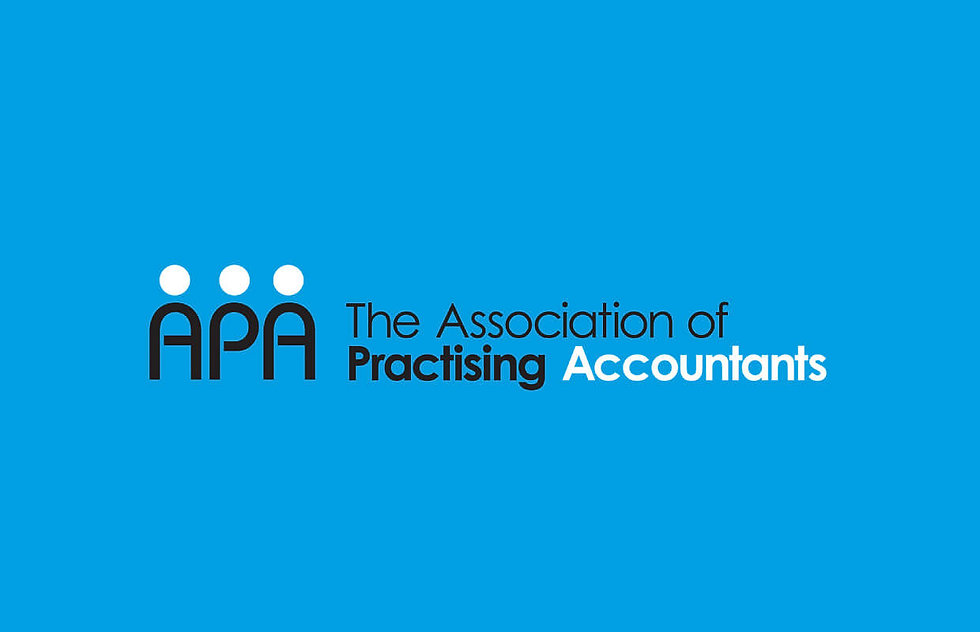 Association logo for accountants