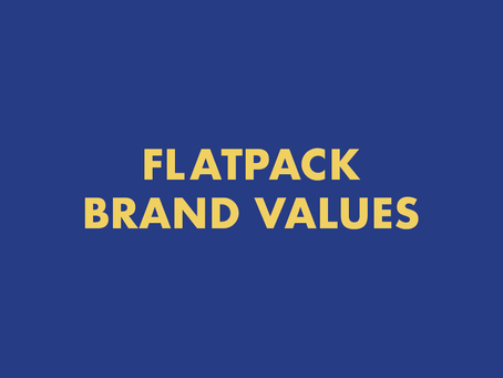Flatpack brand values