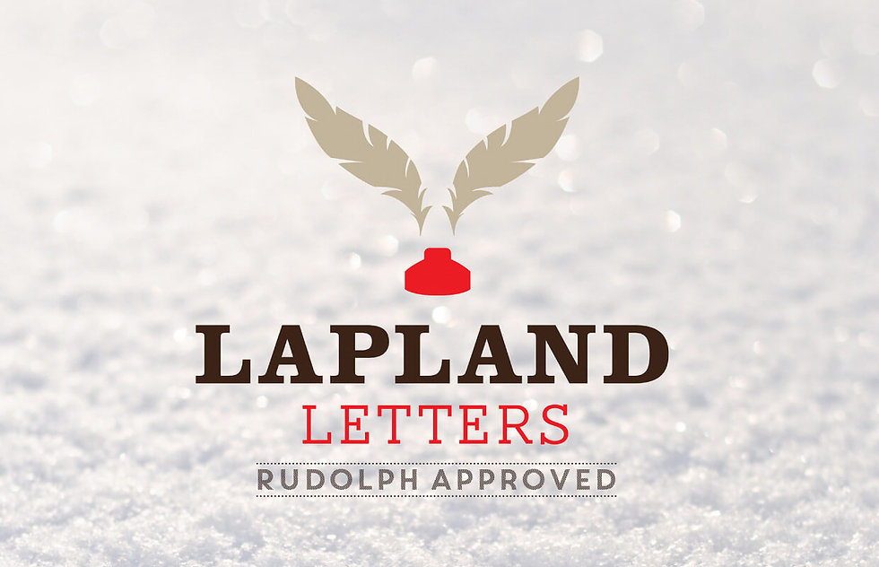 Logo for company selling letters from Santa