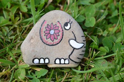 Creating pebble pets