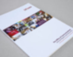 Photograph of annual report cover