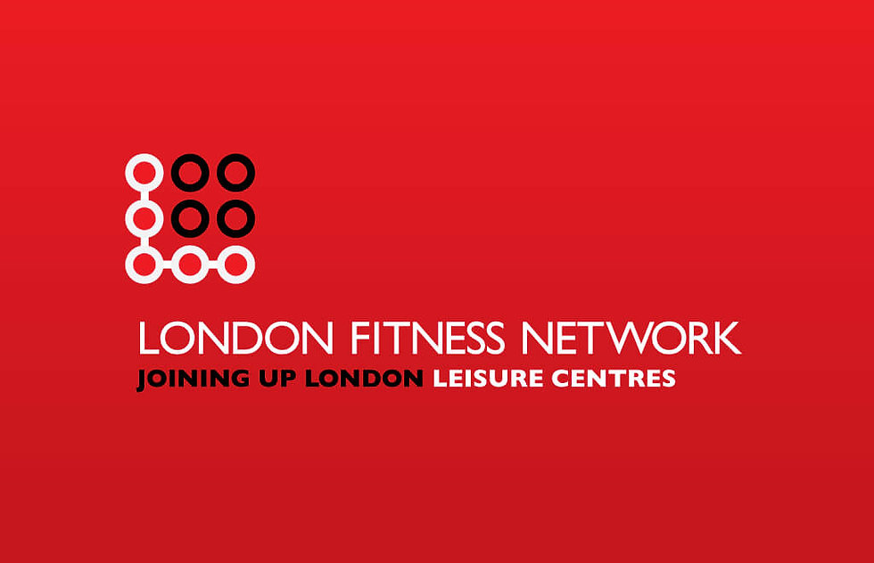 Logo from a pitch to a new kind of gym