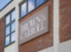 External signage onbuilding