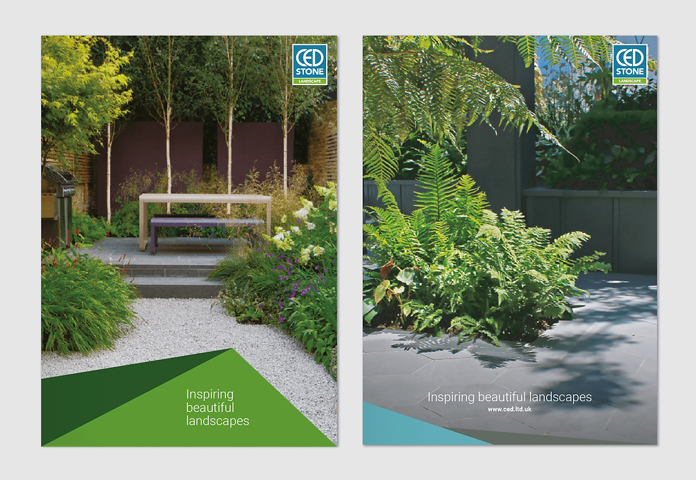Example brochure covers