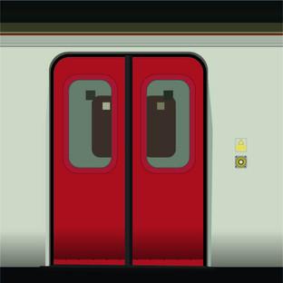 Creative commuting illustration