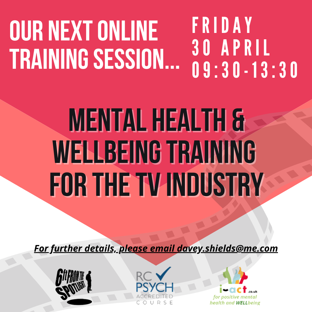 Mental Health and Wellbeing for TV