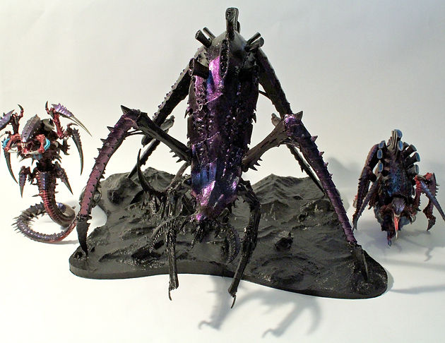 Tyranid Heirophant Base - 3D printed!