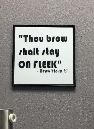 Thou Brow Shall Stay (Decal Only)