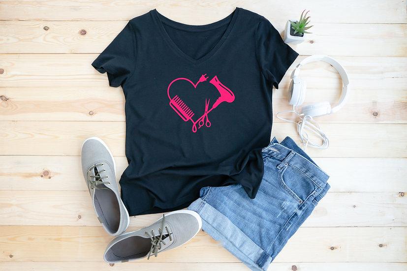 Hairdresser Heart