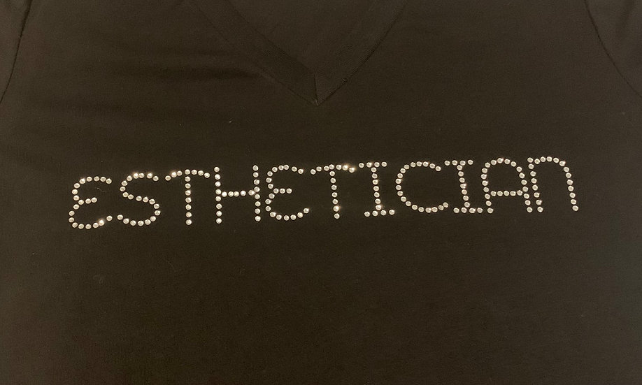Business Name Rhinestone Custom Shirt (Single)