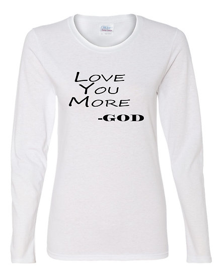 Love You More -God