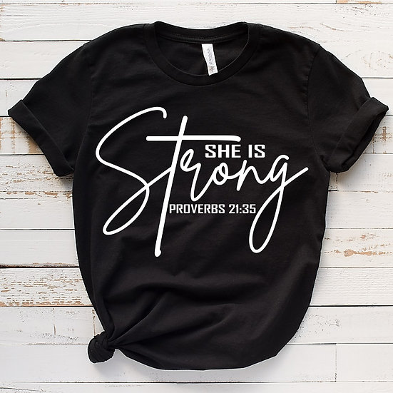 She Is Strong (Long Sleeve Listing)