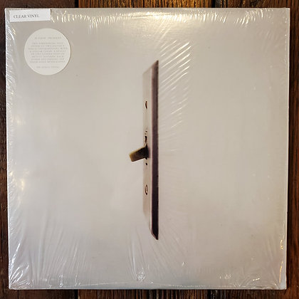 JK FLESH (Justin Broadrick of Godflesh) // PRURIENT - Split CLEAR Vinyl LP
