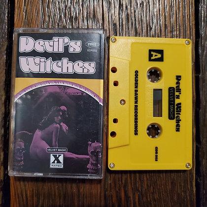 DEVIL'S WITCHES : Velvet Magic - Very Rare Ltd. 100 Copies Yellow Tape