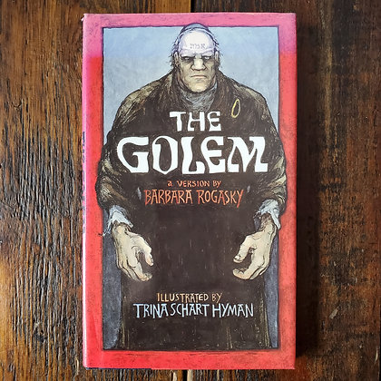 Royally, Barbara : THE GOLEM - Hardcover Book