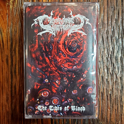 CEREMONIAL BLOODBATH : The Tides of Blood - Cassette Tape (NEW 2020)