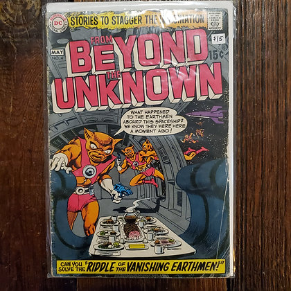 FROM BEYOND THE UNKNOWN #4 - Vintage Comic Book