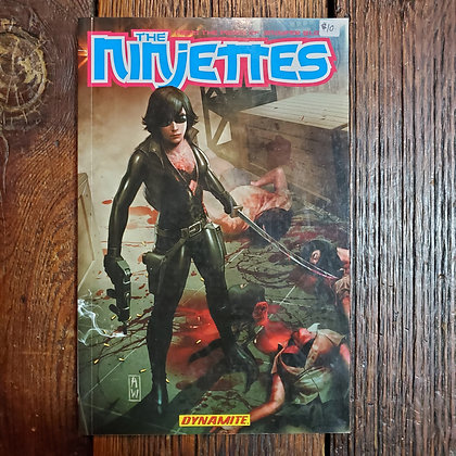 THE NINJETTES Graphic Novel