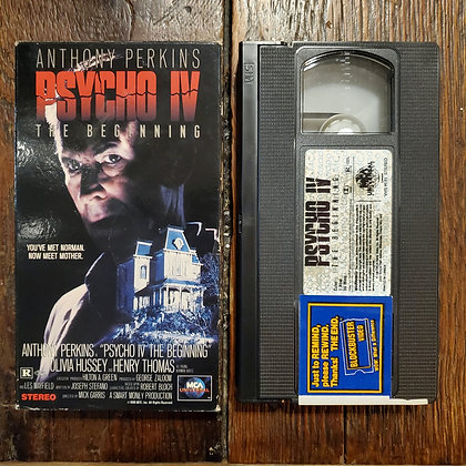 PSYCHO IV The Beginning - VHS