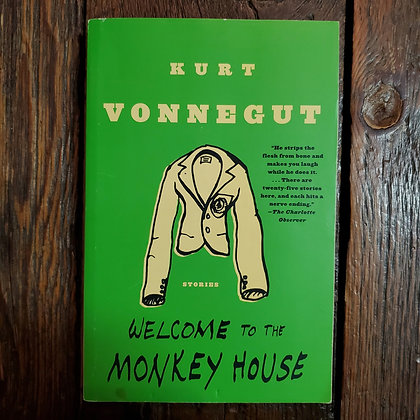 Vonnegut, Kurt : WELCOME TO THE MONKEY HOUSE - Softcover Book
