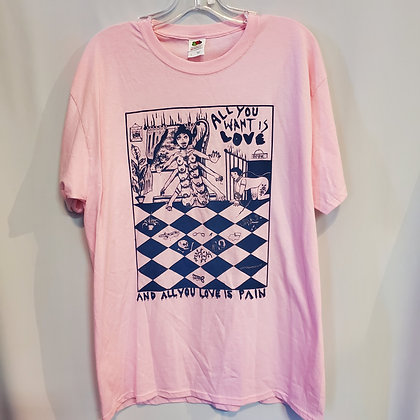 AND ALL YOU LOVE IS PAIN : Size Large - by CHANEL COLLEAUX @gutstems (1 print)