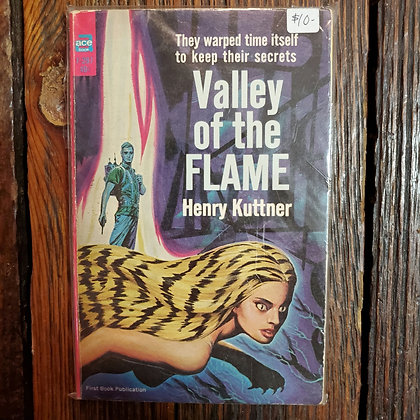 Kuttner, Henry : VALLEY OF THE FLAME - Vintage Paperback