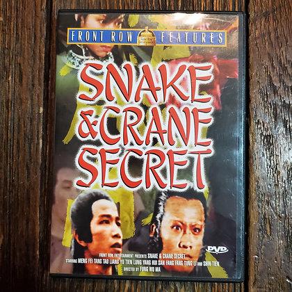SNAKE & CRANE SECRET DVD