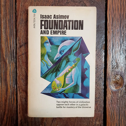 Asimov, Isaac : FOUNDATION AND EMPIRE - Paperback