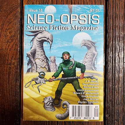 3 copies of NEO-OPSIS Science Fiction Magazine