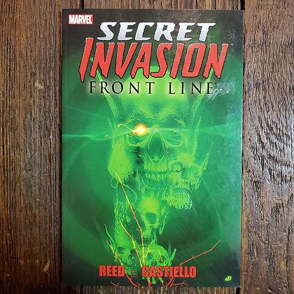 SECRET INVASION Front Line Graphic Novel