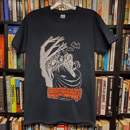 ILLICIT CONTEMPT - Small NEW Shirt (Art by @devilmandeathart )
