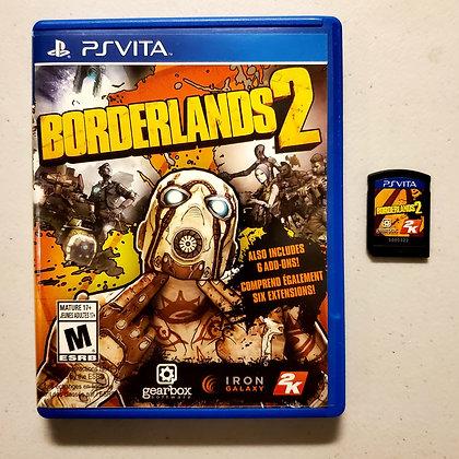 BORDERLANDS 2 - PS VITA Game + Case