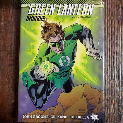 THE GREEN LANTERN OMNIBUS VOL. #1 HARDCOVER (Rare - damaged corner)