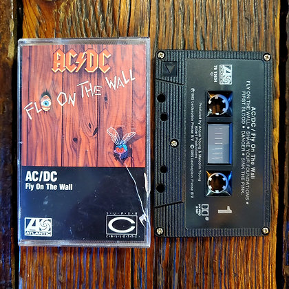AC/DC : Fly On The Wall - Cassette Tape