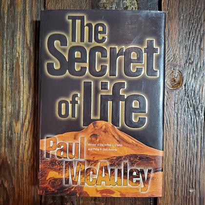 McAuley, Paul : THE SECRET OF LIFE - Hardcover Book