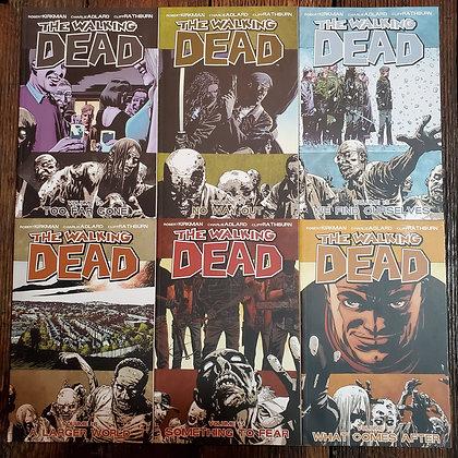 WALKING DEAD 6 Pack Deal - Graphic Novels 13,14,15,16,17,18