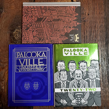 PALOOKA VILLE : Hardcover 3 Pack - 20,21,22 (Drawn & Quarterly)