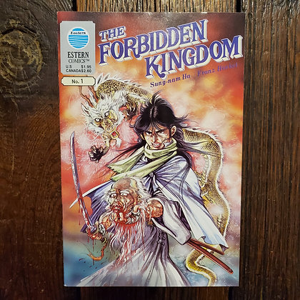 THE FORBIDDEN KINGDOM #1 - Comic Book