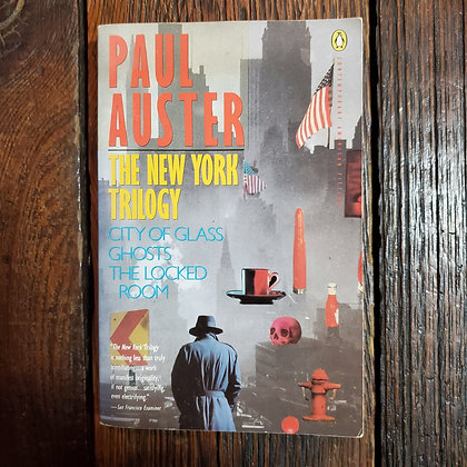 Auster, Paul : THE NEW YORK TRILOGY - Softcover Book