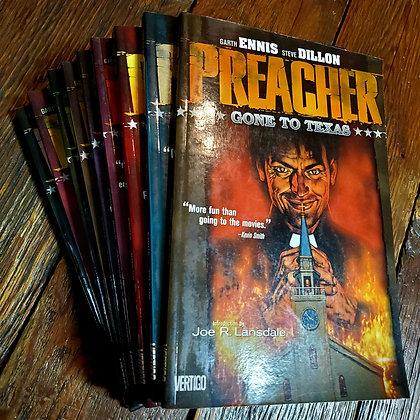 Complete PREACHER Graphic Novel 9 Book Set